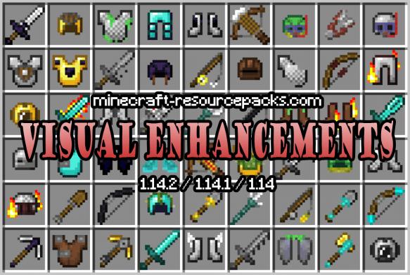 Visual Enchantments 1.14.2 / 1.14.1 / 1.14