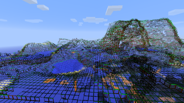 Xray Resource Pack 1.14.3 - 1.14.2 - 1.14.1 - 1.14 - A1
