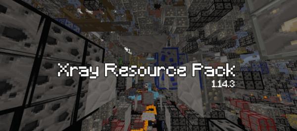 Xray Resource Pack 1.14.3 / 1.14.2 / 1.14.1 / 1.14
