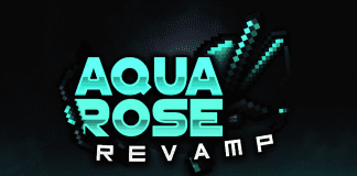 Aqua Rose V2 Revamp PvP Texture Pack 1.8 / 1.8.9