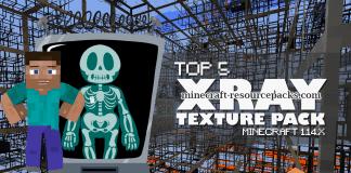 Top 5 Minecraft Xray Texture Packs 1.14