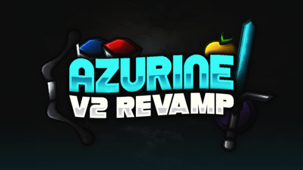 Azurine v2 Revamp 1.8 / 1.8.9 PvP Texture Pack Release