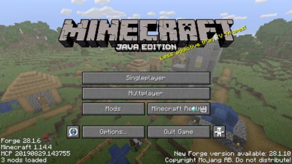 Minecraft Forge 1.14.4 - 1