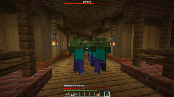 Mob Health Bar 1.14.4 - Better Immersion - 1