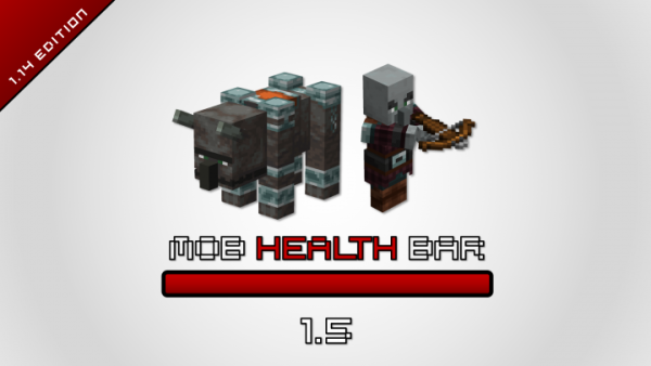 Mob Health Bar 1.14.4 – Better Immersion