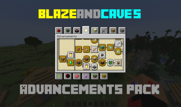 BlazeandCave's Advancements Pack 1.14.4 Adds 600+ New Challenges for Minecraft
