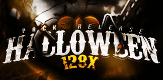 Halloween 128x PvP Texture Pack 1.8.9 / 1.8