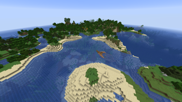 I'm writing this in a Starbucks - Minecraft Seed - 3