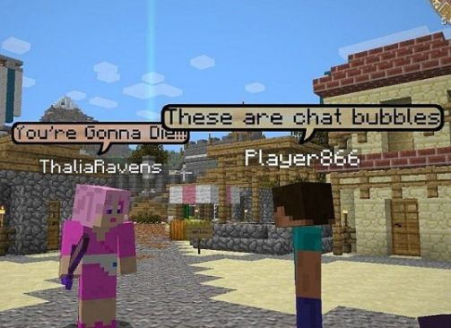 Minecraft Chat Bubbles 1.14 - 2