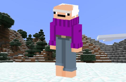 Old Man Skin - 2