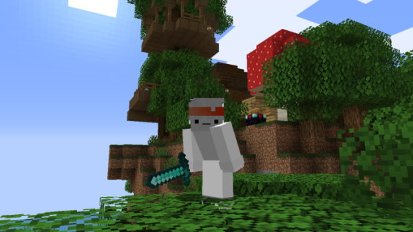 Awesome Orange Headband Skin for Minecraft - Top Skins 10