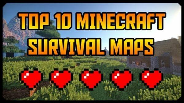 Top 10 Minecraft Survival Maps Downloads & Installs (2019)