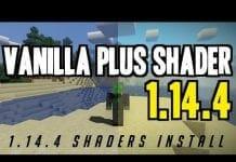 Vanilla Plus Shaders 1.14.4 - MAIN