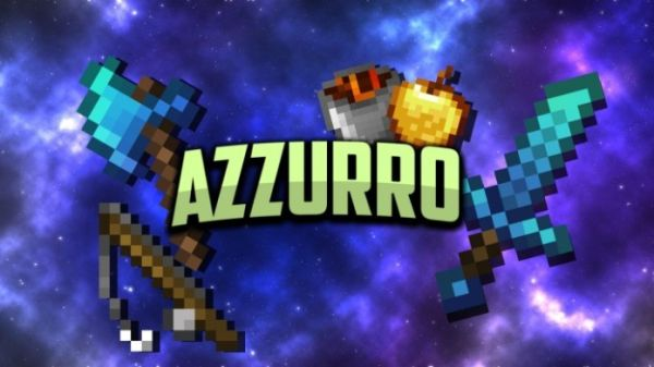 Azzurro 1.14.4 16x PvP UHC Minecraft Texture Packs