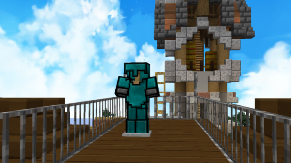 Blue Clouds 1.14.4 256x PvP UHC Minecraft Texture Packs - 1