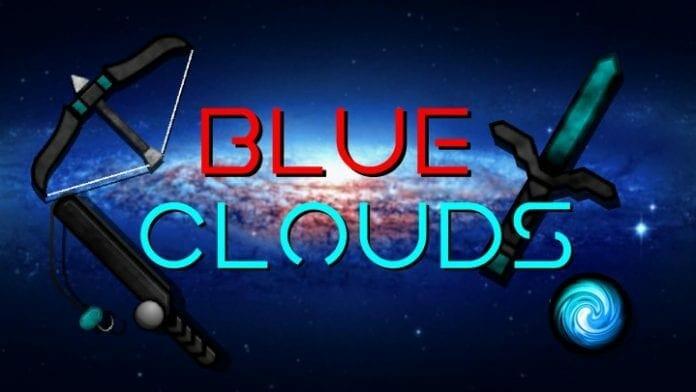 Blue Clouds 1.14.4 256x PvP UHC Minecraft Texture Packs - MAIN