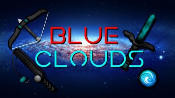 Blue Clouds 1.14.4  256x PvP UHC Minecraft Texture Packs