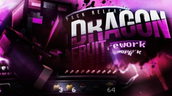 Dragonfruit 128x Rework Release 1.8.9 / 1.8