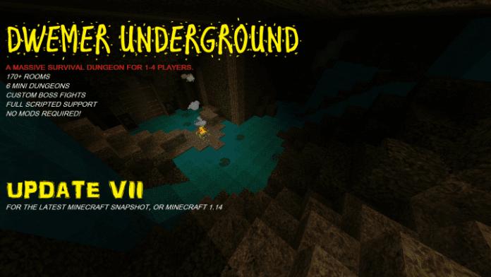 Dwemer Underground - Minecraft Dungeon - main