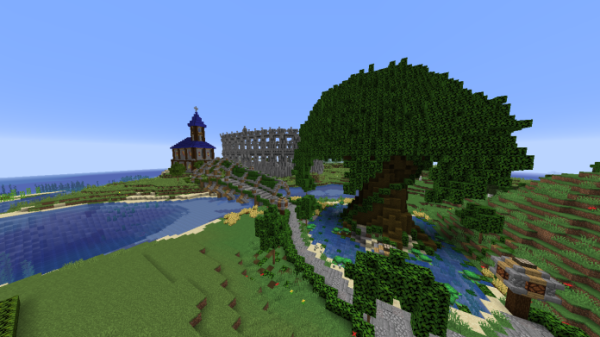 Minecraft Castle - Castle and Gladiator Arena - 2