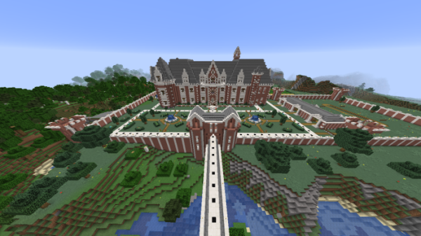 Minecraft Castle - French Chateau - 2