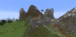 Minecraft Castle - Medieval Village with Castle - 1