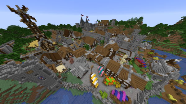 Minecraft Castle - The Clay - 1