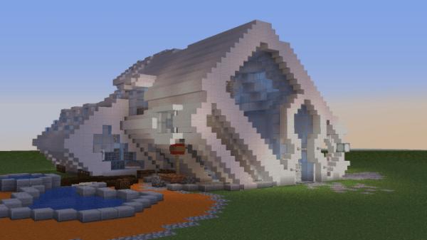 Minecraft House - Alpha House 1