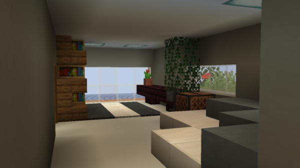 Minecraft House - Small Modern House 3