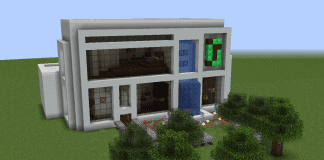 Minecraft House - The Greenhouse 1