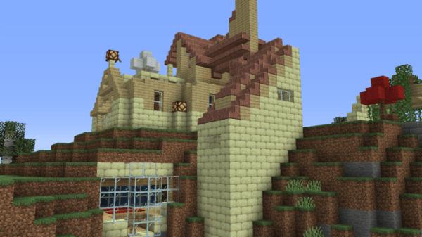 Minecraft House - Modern Mountain 1