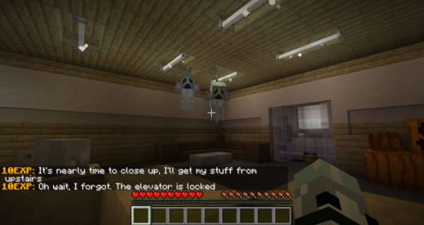 Night Shift On Halloween – Minecrft Horror Map