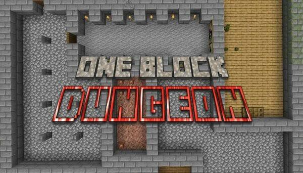 One Block Dungeon - Minecraft Dungeon - main