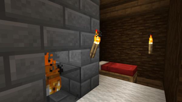 Snowy Log Cabin 2