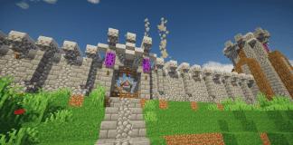 Spring Fort Castle - Minecraft Dungeon - 1