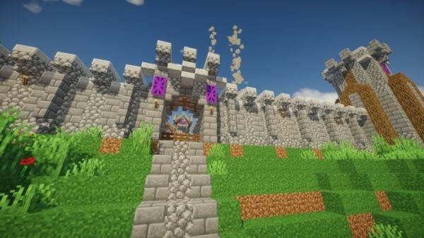 Spring Fort Castle – Minecraft Dungeon