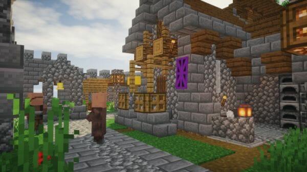 Spring Fort Castle - Minecraft Dungeon - 3