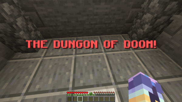 The Dungeon of Doom - Minecraft Dungeon - 1