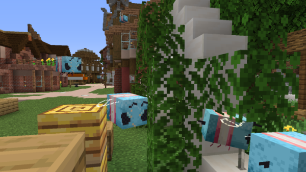 Trans Bees for Faithful 1.15.1 Resource Pack - 3
