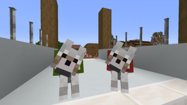 Minecraft Dog - 1