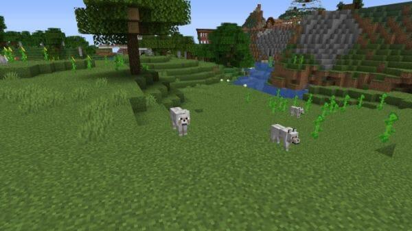 Minecraft Wolf - 1