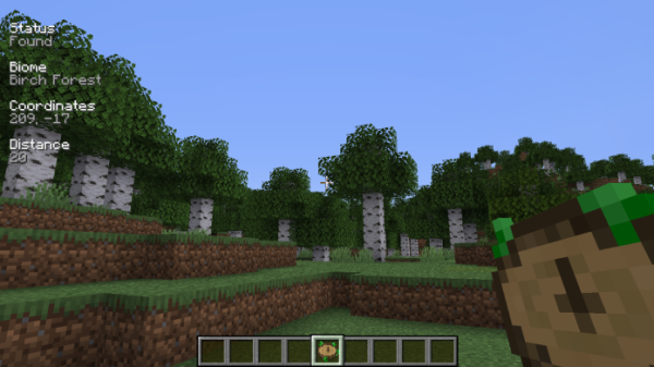 Nature's Compass Mod 1.15.2 (Find any Biome) - 3