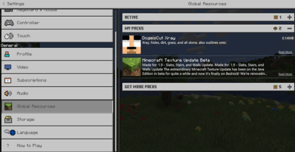 Xray Texture Pack for Minecraft PE and Bedrock 1.14.2 - Buzzy Bees - 3