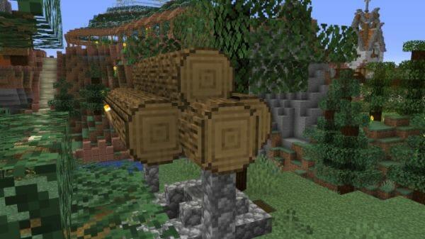 Round Trees 1.15.2 Minecraft Resource Pack - 2