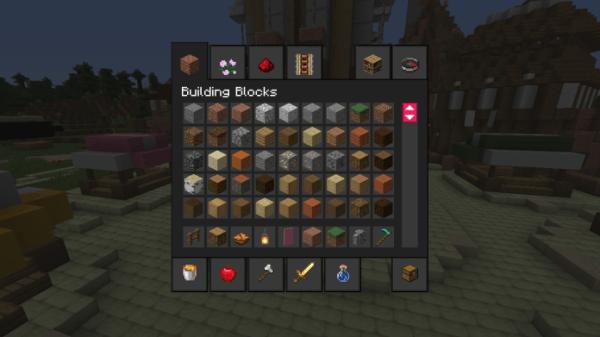 Dark Modern GUIs 32x 1.16 Texture Pack
