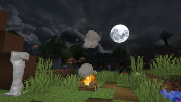 Dramatic Skys 1.16 - Minecraft Texture Pack - 3