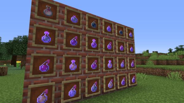 Extra Alchemy Minecraft Mod 1.16 - Add Faithful Potion - 1