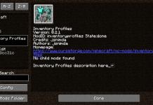 Inventory Profiles 1.16 Minecraft Mod - Better Inventory Organization - 1