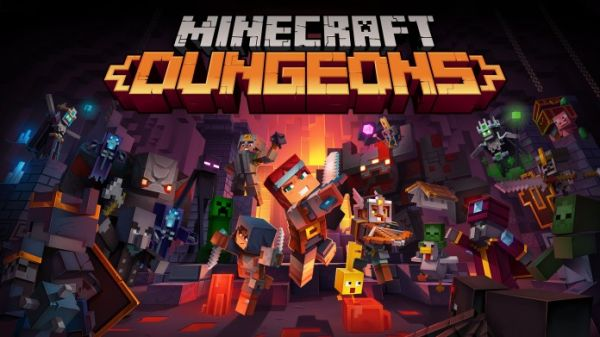 Minecraft Dungeons Unique Weapons and Armors