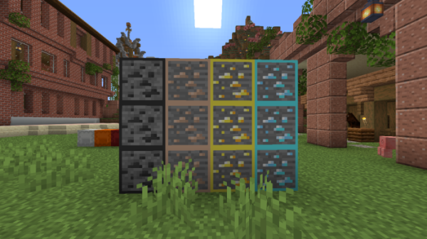 Ore Grids 1.16 Texture Pack